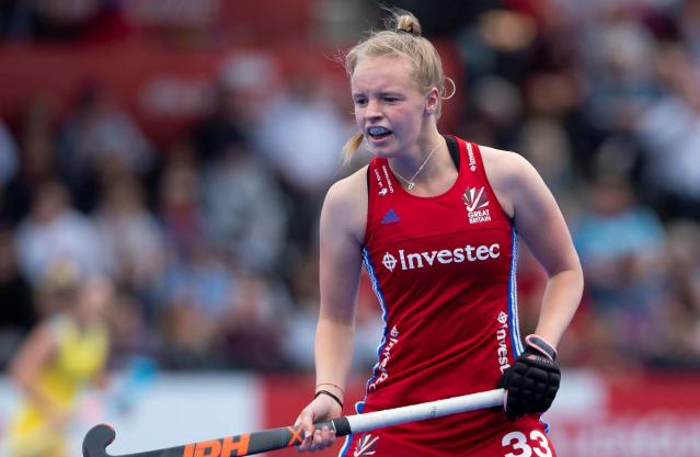 Izzy Petter in action for GB hockey (Credit: GB Hockey)
