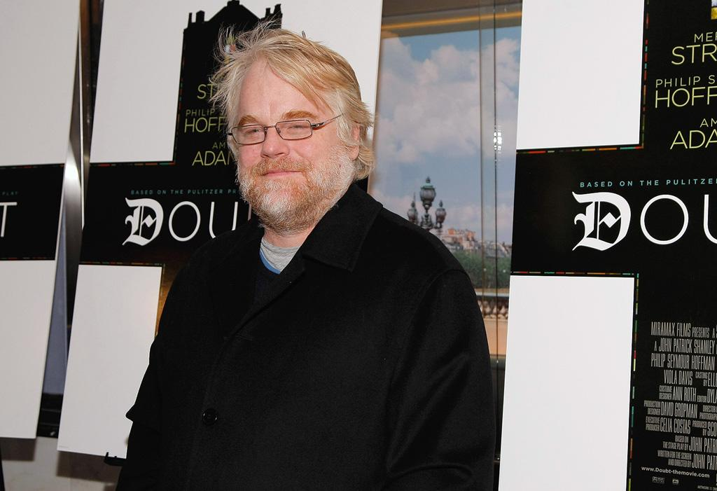 """<a href=""""http://movies.yahoo.com/movie/contributor/1800021779"""">Philip Seymour Hoffman</a> at the New York premiere of <a href=""""http://movies.yahoo.com/movie/1809966791/info"""">Doubt</a> - 12/07/2008"""