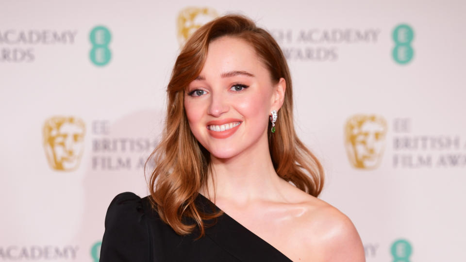 Phoebe Dynevor received rave reviews, as well as record viewing figures, for her work in 'Bridgerton'. (Ian West/PA Images via Getty Images)