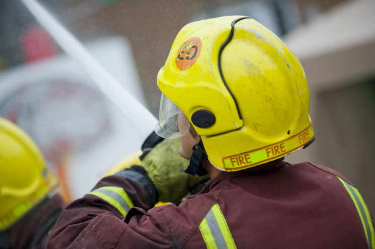 The London Fire Brigade offers free home safety visits (Picture: Rex)