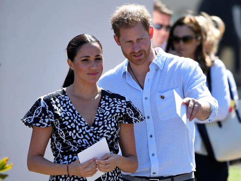 The Duke and Duchess of Sussex (REUTERS)