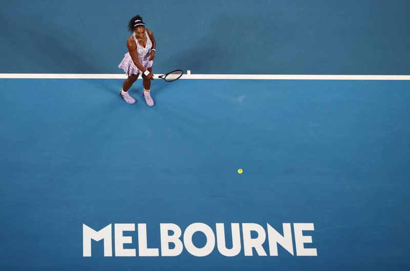 FILE PHOTO: Tennis - Australian Open - Second Round