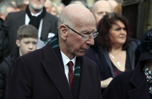 England World Cup winner Sir Bobby Charlton's dementia diagnosis was confirmed last year