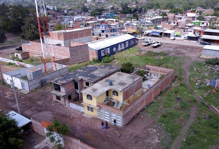 "This drug rehabilitation center in Irapuato, Mexico, was attacked July 1. <span class=""copyright"">(Eduardo Verdugo / Associated Press)</span>"