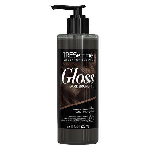 "<h2>Tresemmé Gloss Color-Depositing Hair Conditioner</h2><br>So maybe quarterly trips to the salon for highlights and toning have left the budget chat, but investing in an <a href=""https://www.refinery29.com/en-us/2015/03/83813/best-at-home-hair-color"" rel=""nofollow noopener"" target=""_blank"" data-ylk=""slk:at-home gloss"" class=""link rapid-noclick-resp"">at-home gloss</a> can keep your color vibrant without draining your pockets. Tresemmé's newest gloss-infused conditioner is proof of this: The color-enhancing formula asks for just three minutes of your time to revive your color and soften your strands at the same damn time. The best part? It'll only set you back $8 bucks so you can save for the important stuff — like going totally blonde (or <a href=""https://www.refinery29.com/en-us/2020/12/10216284/hair-color-trends-2021"" rel=""nofollow noopener"" target=""_blank"" data-ylk=""slk:experimenting with other drastic colors"" class=""link rapid-noclick-resp"">experimenting with other drastic colors</a>) come summertime. <br><br><strong>TRESemmé</strong> Tresemmé Gloss Color-Depositing Hair Conditioner, $, available at <a href=""https://go.skimresources.com/?id=30283X879131&url=https%3A%2F%2Fwww.target.com%2Fp%2Ftresemme-gloss-color-depositing-hair-conditioner-dark-brunette-7-7-fl-oz%2F-%2FA-80332978%3Fref%3Dtgt_adv_XS000000%26AFID%3Dgoogle_pla_df%26fndsrc%3Dtgtao%26DFA%3D71700000012510706%26CPNG%3DPLA_Beauty%252BPersonal%2BCare%252BShopping%26adgroup%3DSC_Health%252BBeauty%26LID%3D700000001170770pgs%26LNM%3DPRODUCT_GROUP%26network%3Dg%26device%3Dc%26location%3D9073479%26targetid%3Dpla-896404422375%26ds_rl%3D1246978%26ds_rl%3D1248099%26gclid%3DCjwKCAiAi_D_BRApEiwASslbJ_-hZiyqBADVtW-RWFYKAYl3gJb3iNg5O2qgKtB4kPG7egxkVpOJHRoC5qkQAvD_BwE%26gclsrc%3Daw.ds"" rel=""nofollow noopener"" target=""_blank"" data-ylk=""slk:Target"" class=""link rapid-noclick-resp"">Target</a>"