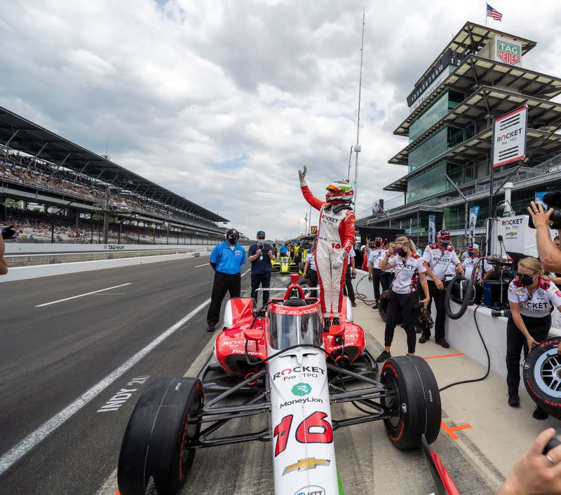 IndyCar: Crown Royal Armed Forces Qualifying
