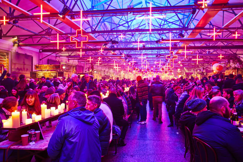 The Winter Feast at Hobart, Tasmania's Dark Mofo at Princes Wharf 1
