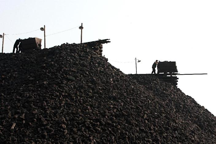 China is the world's largest coal producer and deadly accidents are common (AFP Photo/)