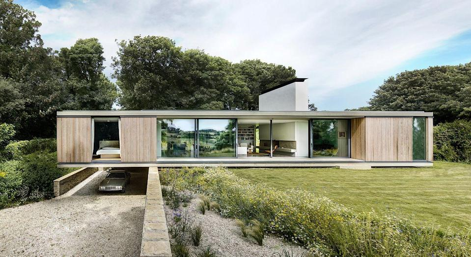 """<p>Originally from Sweden, Magnus Ström brings a Scandinavian sensibility to his work. His practice designs contemporary properties that combine boldness with simplicity, from the cantilevered form of The Quest (pictured), to house-on-stilts Island Rest and the brutalist-inspired Kattegat House in Sweden.</p><p><strong>They say '</strong>In today's world of 24/7 noise from social media, advertising, emails, mobiles and traffic, we want to offer reprieve. We do so with architecture that is simple and intuitive, yet strong and elegant.' <a href=""""https://www.stromarchitects.com/"""" rel=""""nofollow noopener"""" target=""""_blank"""" data-ylk=""""slk:stromarchitects.com"""" class=""""link rapid-noclick-resp"""">stromarchitects.com</a></p>"""