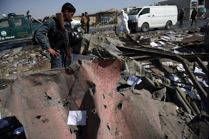 The latest attacks in Kabul are a grim reminder of growing insecurity in Afghanistan (AFP Photo/Wakil Kohsar)