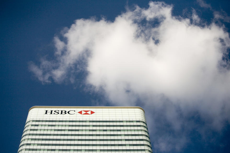In the banking sector, HSBC was the biggest contributor, despite being under Prudential Regulation Authority constraints during the period after a ban altogether in 2020. Photo: Kevin Coombs/Reuters