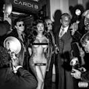 """<p>Cardi B's promotion for her new song """"Press"""" included this risqué pic with EXTREMELY well placed black bars. The rapper looks absolutely incredible and while she has had to cancel some shows recently in order to heal from plastic surgery complications, there is no evidence of that in this gorg pic. </p><p><a href=""""https://www.instagram.com/p/ByGlKQlAT72/"""" rel=""""nofollow noopener"""" target=""""_blank"""" data-ylk=""""slk:See the original post on Instagram"""" class=""""link rapid-noclick-resp"""">See the original post on Instagram</a></p>"""