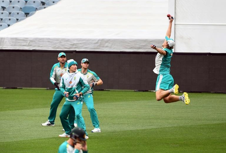 Australia are expected to stick with allrounder Cameron Green, seen here attempting to take a catch during training at the Melbourne Cricket Ground on Thursday, for the Boxing Day Test