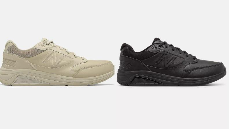 These leather New Balances are best fit for those who need motion control.