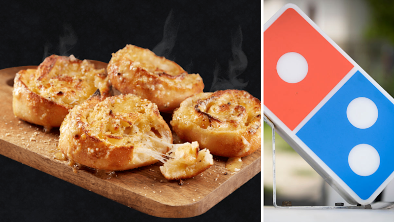 Dominos is flogging free cheesy garlic scrolls. And discounted pizzas. Source: Dominos/Getty