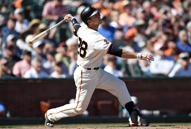 The Giants will play the Dodgers six more times this season. (Getty)