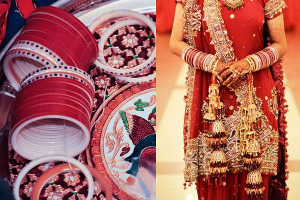Significance of Chooda and Kalire for a Punjabi Bride
