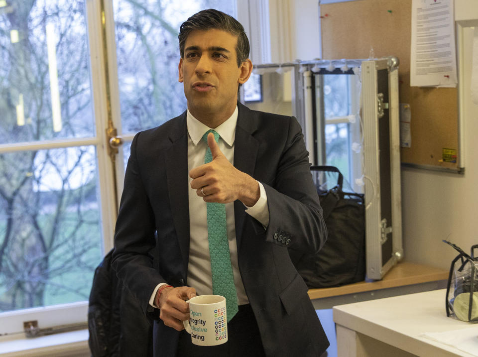 The Chancellor Rishi Sunak appears on Sky TV's Sophy Ridge on Sunday show and the BBC TV's Marr Show with only three days before he delivers the budget. Photo: HM Treasury/Flickr