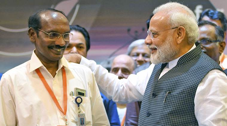ISRO Chandrayaan 2 mission, NASA on Chandrayaan, NASA to ISRO, UAE Space agnecy, K Sivan ISRO, Indian Express
