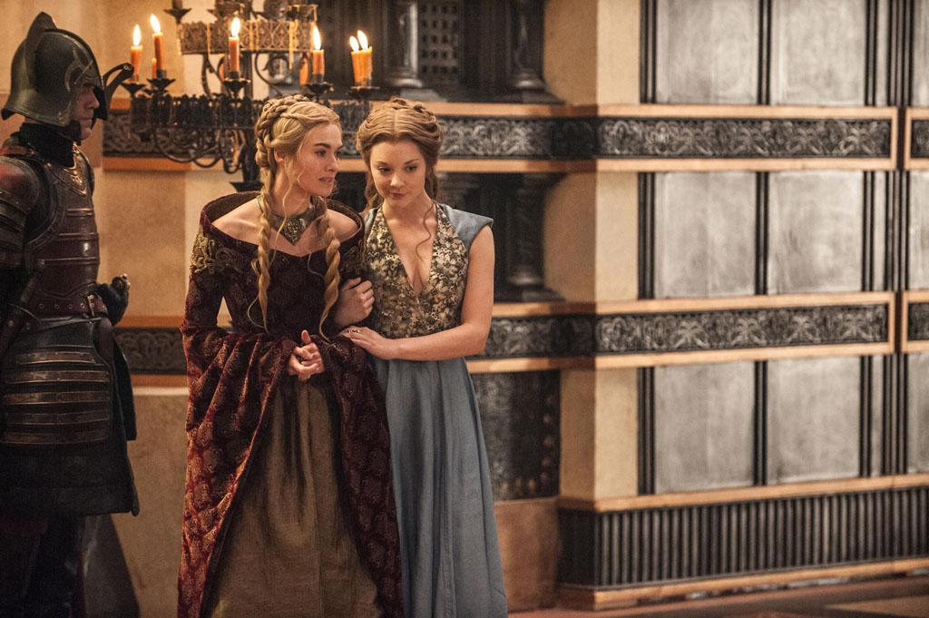 "Lena Headey and Natalie Dormer in the ""Game of Thrones"" episode, ""Second Sons."""