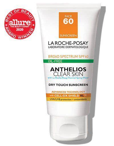 """<p><strong>La Roche-Posay</strong></p><p>laroche-posay.us</p><p><strong>$19.99</strong></p><p><a href=""""https://go.redirectingat.com?id=74968X1596630&url=https%3A%2F%2Fwww.laroche-posay.us%2Fsunscreen%2Fsunscreen-product-type%2Fface-sunscreen%2Fanthelios-clear-skin-oil-free-sunscreen-spf-60-3606000430488.html%3Fcgid%3Dface-sunscreen%23start%3D7&sref=https%3A%2F%2Fwww.townandcountrymag.com%2Fstyle%2Fbeauty-products%2Fg36367607%2Ftc-editors-beauty-and-wellness-roundup%2F"""" rel=""""nofollow noopener"""" target=""""_blank"""" data-ylk=""""slk:Shop Now"""" class=""""link rapid-noclick-resp"""">Shop Now</a></p><p>""""With reemergence from our homes coinciding with sunnier days I will be holding on tight to my holy grail facial sunscreen, La Roche-Posay's Anthelios Face Sunscreen. The sheer application and minimal """"sunscreen smell"""" means the inside of my masks are safe on days ventured outside. The SPF 60 and combination skin formula mean my sun sensitive skin is covered whether oily or dry. Don't forget your ears or neck!""""<em>— </em><em>Cassandra Hogan, Fashion Assistant </em></p>"""