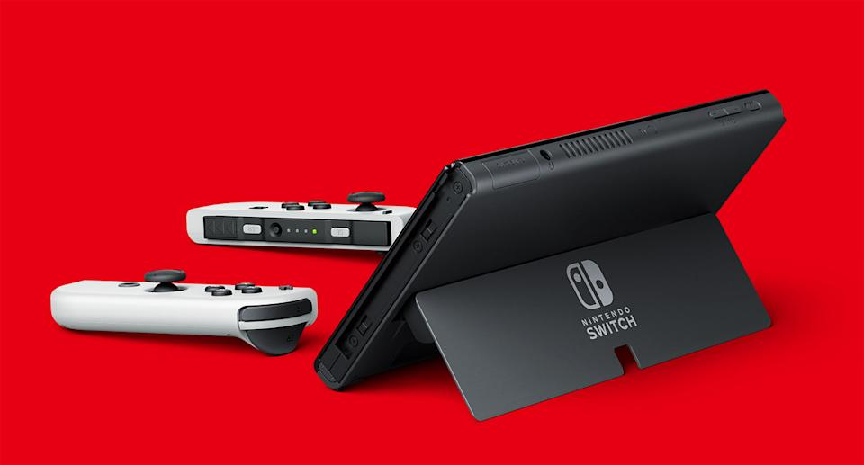 The Nintendo Switch OLED was launched on 8 October (Nintendo)