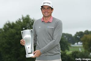 Keegan Bradley erased a 3-shot deficit with 6-under 64 and then won the BMW Championship in sudden death for his first win in over 6 years