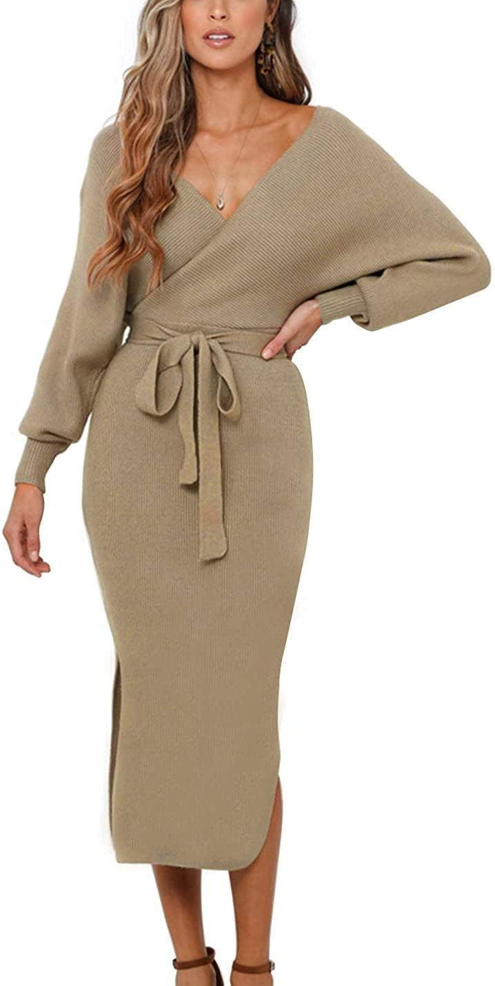 <p>This <span>Zhpuat Sweater Dress</span> ($46) is comfy and flattering.</p>