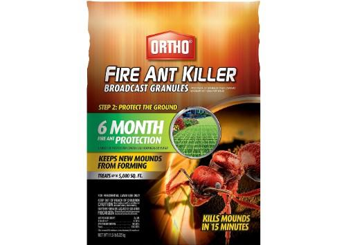 Ortho Fire Ant Killer Broadcast Granules. (Photo: Amazon)