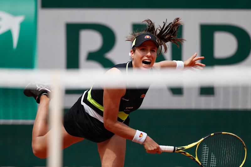 Flawless Konta Stuns Stephens To Advance To Roland Garros Semifinals