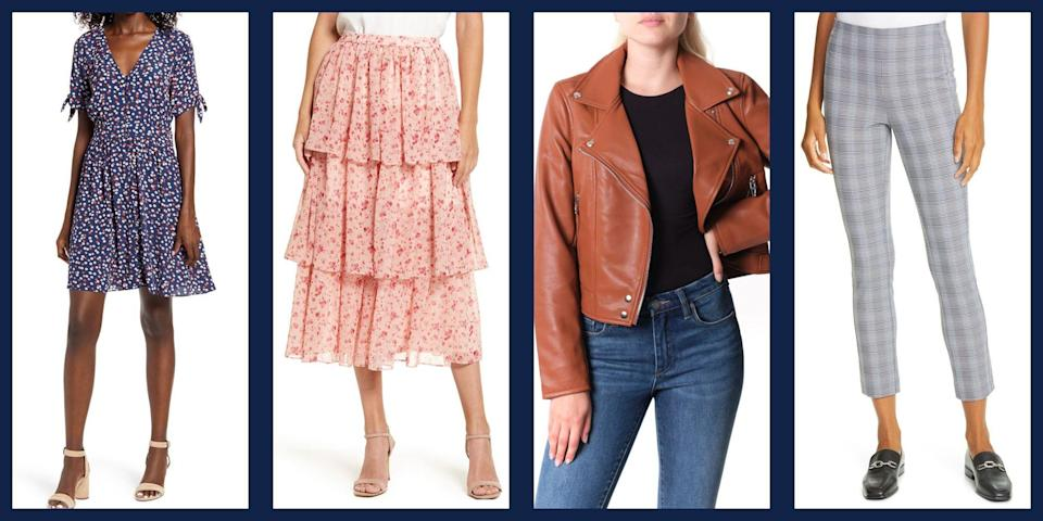 """<p>Not all sales are treated equal, and Nordstrom wants you to know it. <a href=""""https://www.townandcountrymag.com/style/fashion-trends/g33404810/nordstrom-aniversary-sale-presale-2020/"""" rel=""""nofollow noopener"""" target=""""_blank"""" data-ylk=""""slk:Their annual Anniversary sale"""" class=""""link rapid-noclick-resp"""">Their annual Anniversary sale</a> takes discounts and deals to a whole new level—and if you're unsure what we're referring to, please allow us introduce you to your best new excuse to shop. Once a year, the Seattle-based company puts some of their most covetable items on sale across virtually all categories—clothing, accessories, beauty, and home goods—featuring brands like Tory Burch, MOTHER denim, J. Crew, and more. </p><p> Because of ongoing complications from the COVID-19 pandemic, the retailer had pushed back the sale from their usual July start date to <a href=""""https://www.nordstrom.com/browse/anniversary-sale?jid=j011759-13114&cid=00000&cm_sp=merch-_-scaled_events_13114_j011759-_-hp_corp_p00_details"""" rel=""""nofollow noopener"""" target=""""_blank"""" data-ylk=""""slk:August 19"""" class=""""link rapid-noclick-resp"""">August 19</a> this year, but early access is available for Nordstrom cardholders beginning August 13. Whether you're a loyal customer ready to fill your cart, or you simply can't wait to begin planning out your shopping spree, scroll down for a breakdown of our favorite women's sale items, from silky tops to casual joggers. Plus, shop the entire pre-sale <a href=""""https://www.nordstrom.com/browse/anniversary-sale?origin=topnav"""" rel=""""nofollow noopener"""" target=""""_blank"""" data-ylk=""""slk:here"""" class=""""link rapid-noclick-resp"""">here</a>.</p>"""
