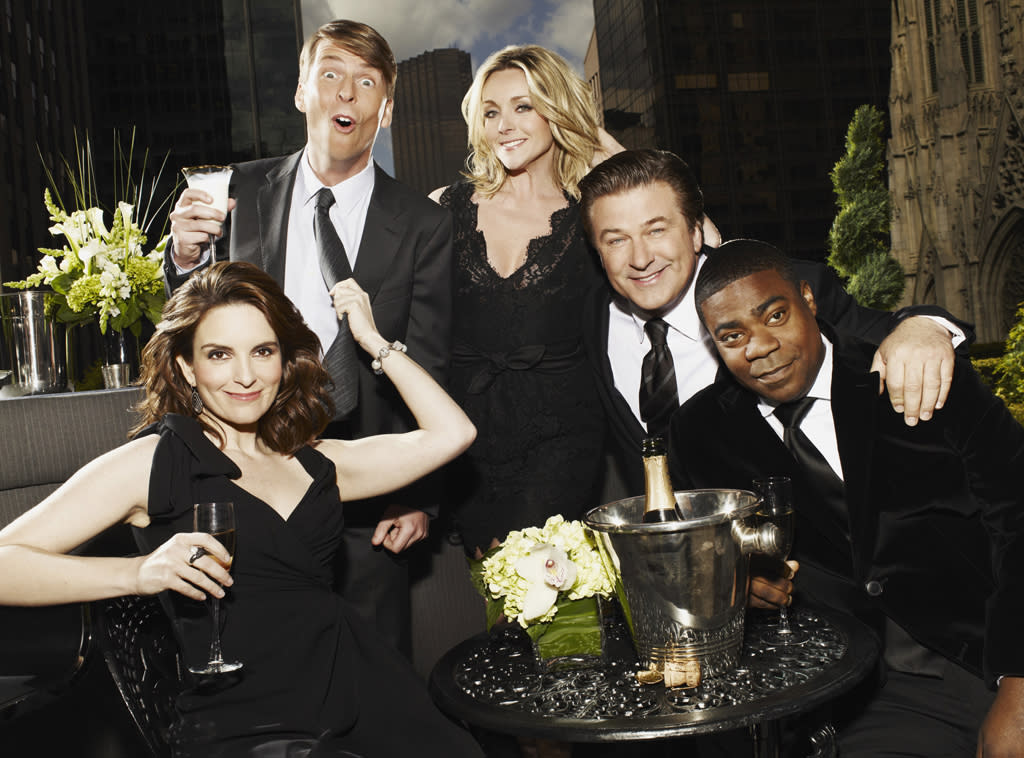 "<b>""30 Rock""</b><br>Thursday, 5/17 at 8:30 PM on NBC<br><br>The suddenly-everywhere Elizabeth Banks (wasn't she great in ""The Hunger Games""?) returns to ""30 Rock"" just in time for its Season 6 finale, reprising her role as Jack's beloved Avery Jessup. Last we saw Avery, she was being held captive by North Korea and forced to marry dictator Kim Jong-un. (Yeah, that's a major step down from Alec Baldwin.) Avery finally makes her way home on the finale -- but will she return to discover her man pining for her mom, Diana (Mary Steenburgen)?<br><br><a href=""http://yhoo.it/IHaVpe%20"">More on Upcoming Finales </a>"