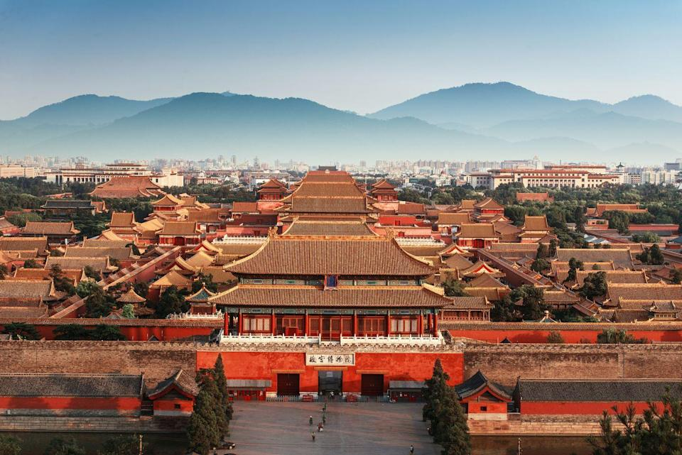 <p>In the heart of Beijing, the iconic imperial residence stretching over 180 acres with nearly 1,000 buildings may just be the most renowned palace in the world. Over a million workers were employed to build the palace and state residence of the Emperor of China during from 1406 to 1420. </p><p>The Forbidden City served as the seat of both the Ming and later Qing Dynasties until Emperor Puyi abdicated the throne in 1912. Named a UNESCO World Heritage Site in 1987, the complex now operates as a museum with over 10,000 priceless works of Chinese art and artifacts decorating the halls and courtyards.</p>