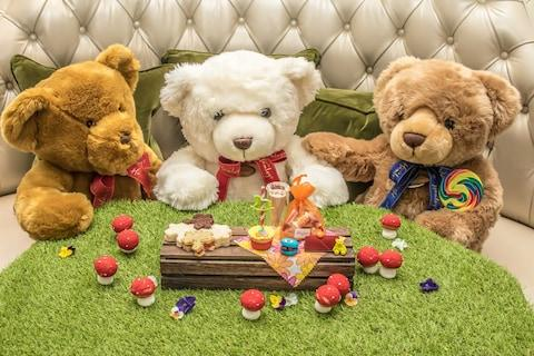 Children's afternoon tea at The Langham