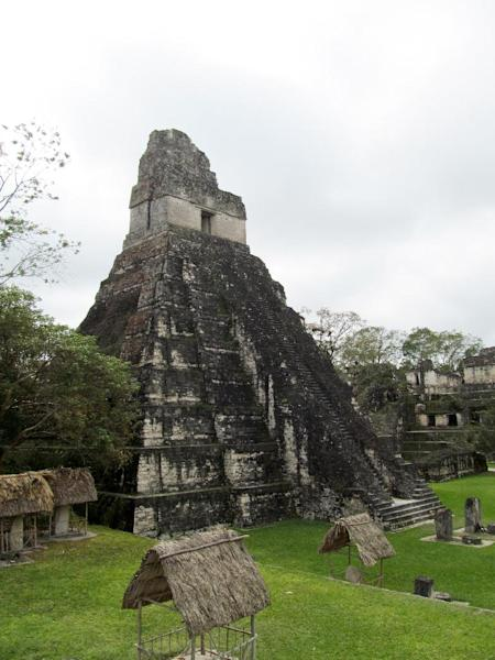 This February 2013 photo shows Temple I at Tikal, Guatemala's largest Mayan ruins park and a UNESCO World Heritage Site. Spread over 220 square miles, Tikal encompasses thousands of structures in addition to a primary tropical forest and a variety of wildlife. Temple I has become a symbol of Guatemala. (AP Photo/Amir Bibawy)