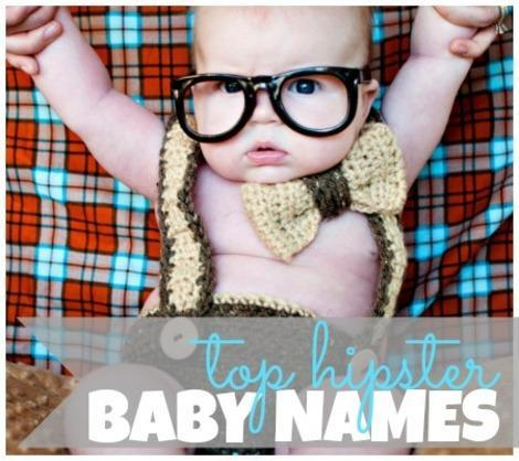Too Cool for Nursery School: 10 Hot Hipster Baby Names for ...