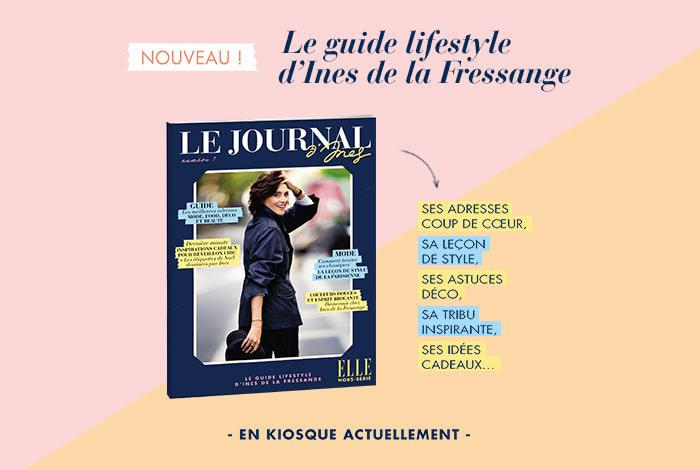 « Le Journal d'Ines » : Ines de la Fressange lance son guide lifestyle !