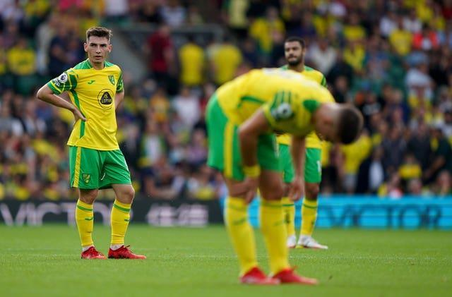 Norwich slumped to defeat at home to fellow Premier League newcomers Watford on Saturday.