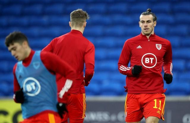 Gareth Bale was back in the Wales starting line-up