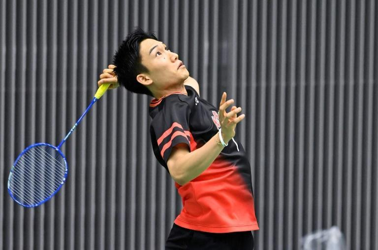 Japan's World number one Kento Momota won his first match on the world tour for 14 months