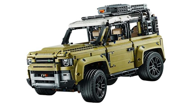 Land Rover Defender Lego model leaked