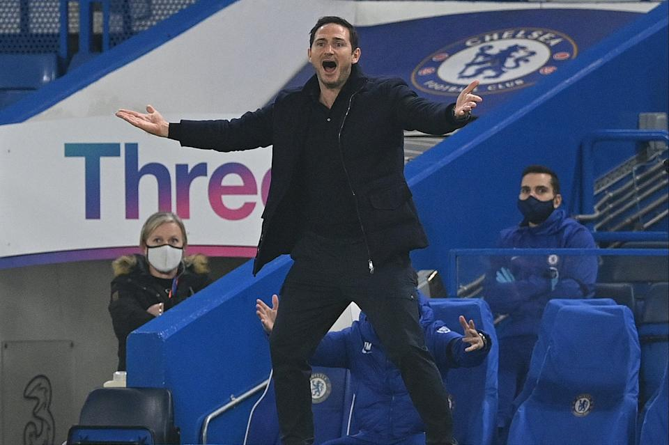 <p>Frank Lampard is likely to hand chances to the likes of Billy Gilmour against Sevilla tonight</p>POOL/AFP via Getty Images