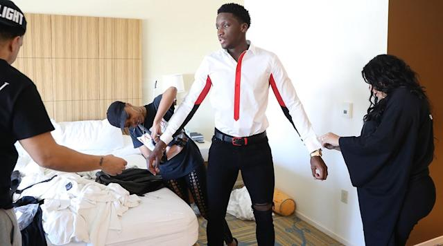 Behind the Scenes With Victor Oladipo, the NBA's One-Man Musical