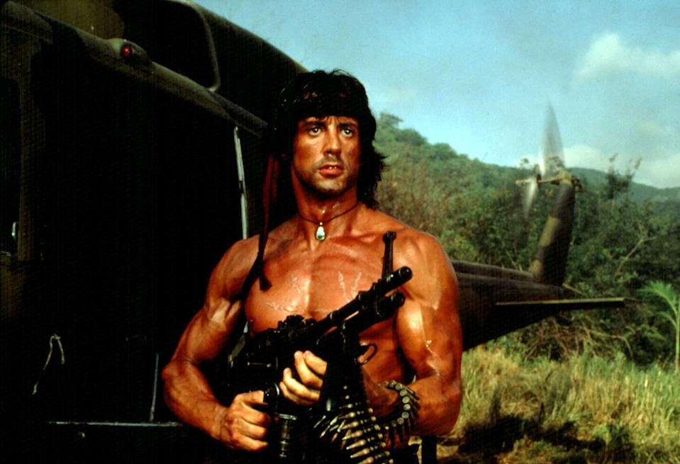 Sylvester Stallone as John Rambo in <em>Rambo: First Blood Part II</em>. (Photo: TriStar Pictures/Courtesy Everett Collection)
