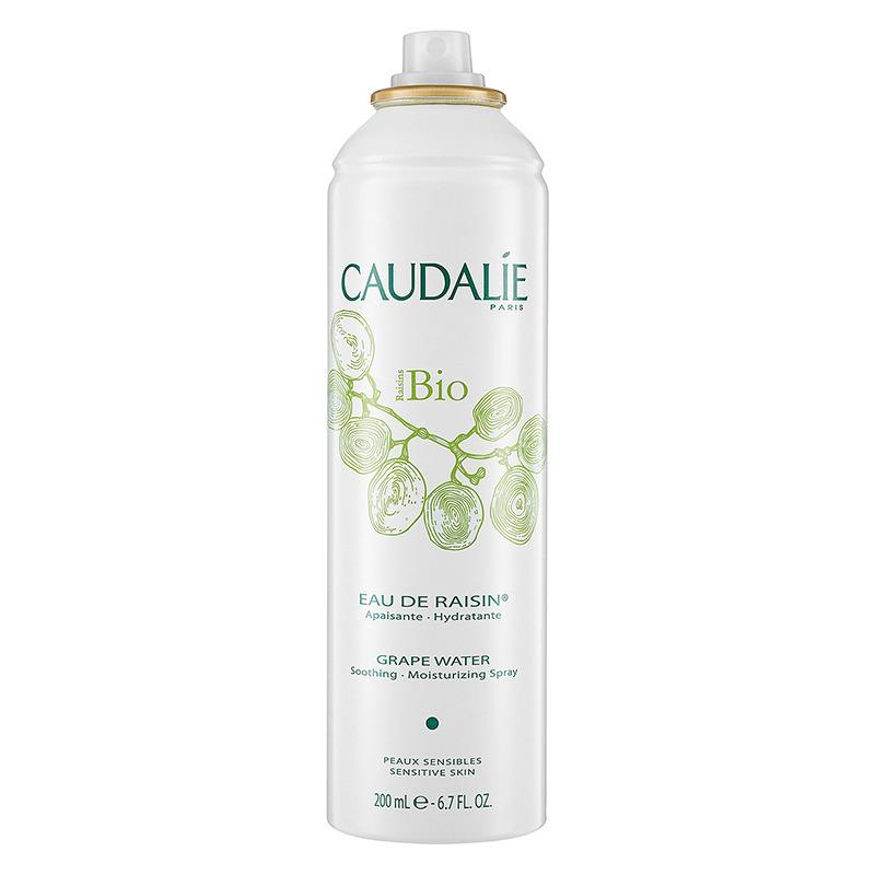 """<p>If you don't want to start from scratch, use this cult-status mist to refresh your skin before a makeup touchup. <a href=""""http://us.caudalie.com/care-face/product/cleansers-toners/organic-grape-water.html"""">Caudalie Organic Grape Water</a>, $22 (Photo courtesy Caudalie) </p>"""