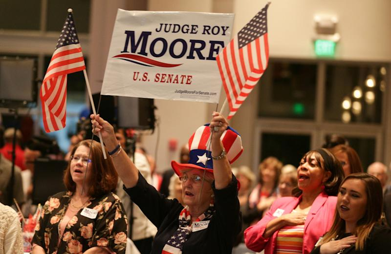 Nine women have accused Roy Moore of sexual misconduct. Some of Moore's supporters say those women are being paid to lie.