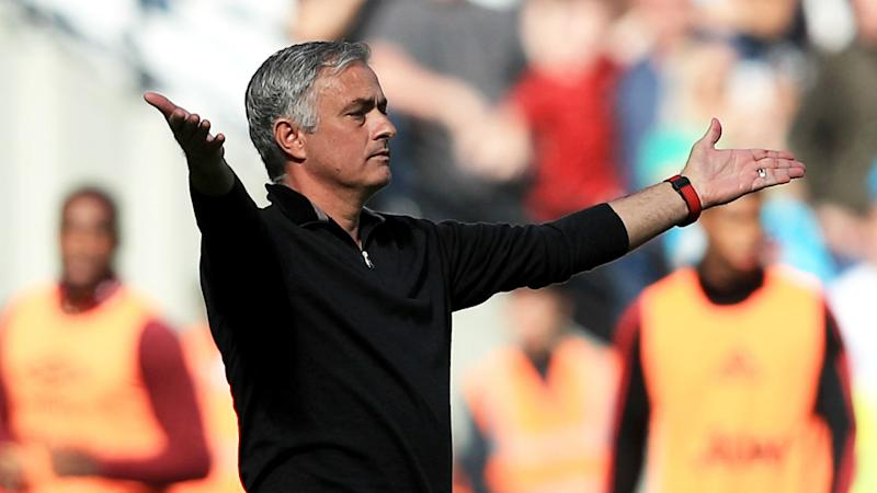 José Mourinho says he was happy with Manchester United's improvement