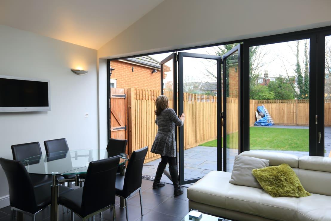 <p>It's a waste of heating and, more to the point, it's simply rude. Were they born in a barn? </p><p>If the answer is no, they have no excuse for leaving your doors open when you've specifically shut them and got your house to a comfortable temperature.</p>  Credits: homify / London Building Renovation