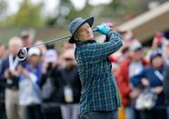 <p>Bill Murray plays in the 3M Celebrity Challenge during a practice round for the AT&T Pebble Beach Pro-Am at Pebble Beach Golf Links in February 2017.</p>