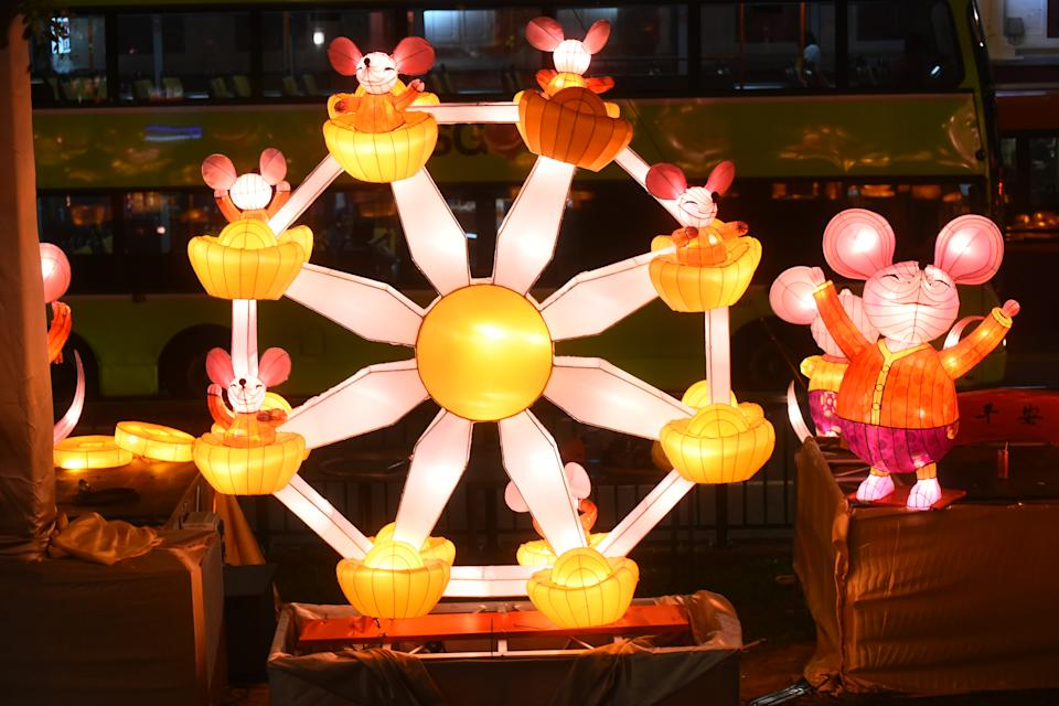 A closer look of the adorable rat and gold coin lanterns at Chinatown. (PHOTOS: Kreta Ayer – Kim Seng Citizens' Consultative Committee)